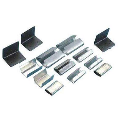 Plastic steel packing buckle
