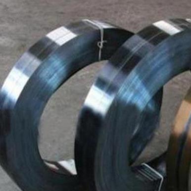 Bluing steel strip